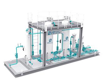 固体脱硫装置