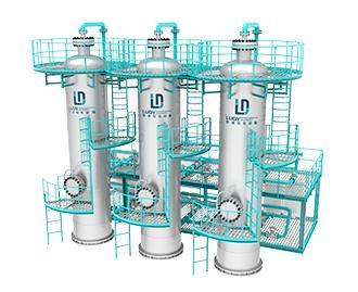 分子筛气体脱硫装置